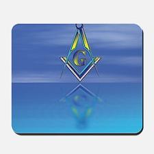 Masonic Seascape Mousepad