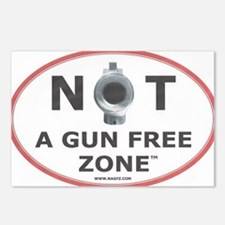 NOT A GUN FREE ZONE  Postcards (Package of 8)