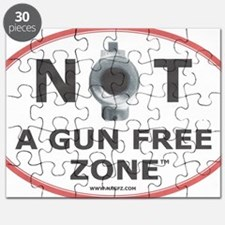 NOT A GUN FREE ZONE  Puzzle