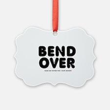 CATHOLIC CONFESSION - BEND OVER - Ornament