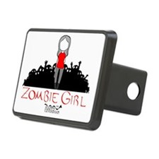 Zombie Girl Design Hitch Cover