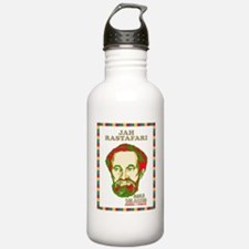 Jah Rastafari Selassie Water Bottle