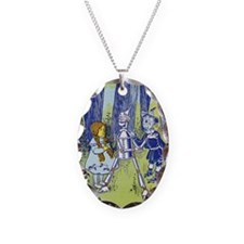 Vintage Wizard of Oz Necklace Oval Charm