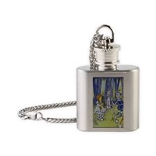 Vintage Wizard of Oz Flask Necklace