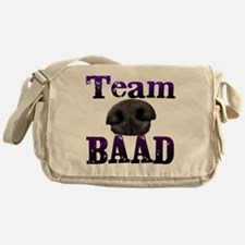 Team Baad Banner Messenger Bag