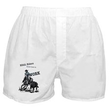 Real Western Cutting Horse Boxer Shorts