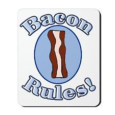 Bacon Rules Mousepad