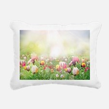 Spring Meadow Rectangular Canvas Pillow