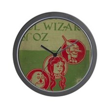 Vintage Wizard of Oz 1899 Wall Clock