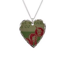 Vintage Wizard of Oz 1899 Necklace Heart Charm