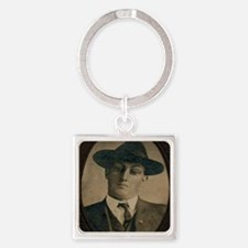 Bugsey Square Keychain