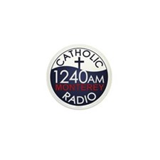 Catholic Radio Logo Mini Button