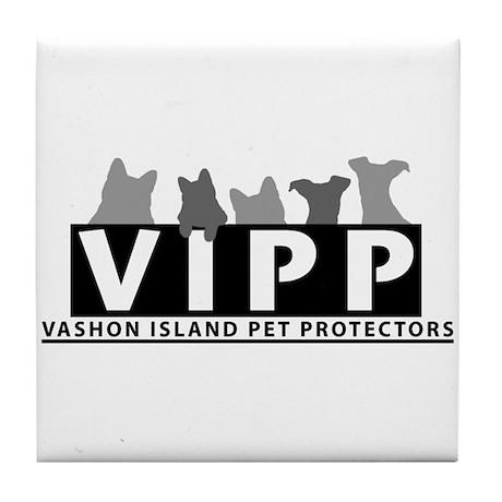 Vashon Island Pet Protectors Tile Coaster