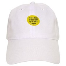 To Err is Human. To Really Sc Baseball Cap