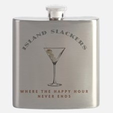 HAPPY HOUR wht Flask