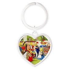 ALICE QUEEN_RD Heart Keychain