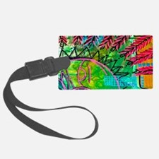 Sun Spots Colorful Abstract Pain Luggage Tag