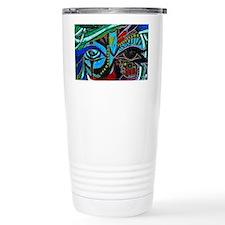 Warrior Vision Colorful Travel Coffee Mug