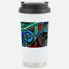 Warrior Vision Colorful Travel Mug