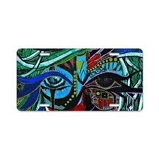 Warrior Vision Colorful Abs Aluminum License Plate