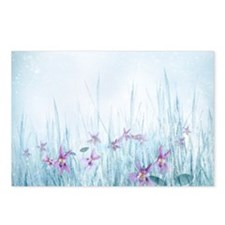Winter Violets Postcards (Package of 8)