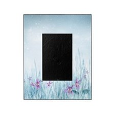 Winter Violets Picture Frame