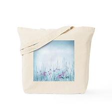 Winter Violets Tote Bag