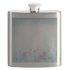 Winter Violets Flask