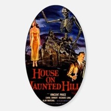 house on haunted hill Decal