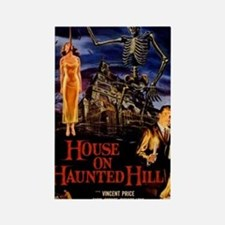 house on haunted hill Rectangle Magnet