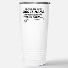 Turkish Angora Cat Desi Travel Mug