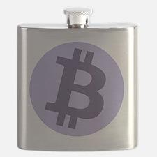 GFB Bitcoin Logo Flask