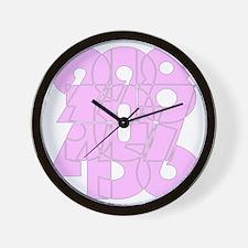 bk_cnumber Wall Clock