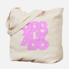 sg_cnumber Tote Bag