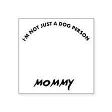 "Chesapeake bay Retriever mo Square Sticker 3"" x 3"""
