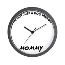 Chesapeake bay Retriever mommy designs Wall Clock