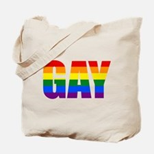 Gay Pride Colors Tote Bag