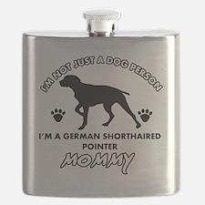 German Shorthaired Pointer designs Flask