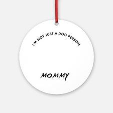 German Pinscher dog designs Round Ornament