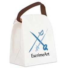 escrimeart Logo Canvas Lunch Bag