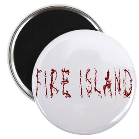 "Fire Island 2.25"" Magnet (10 pack)"