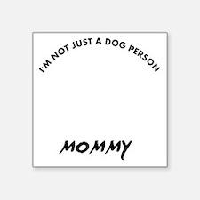 """Dandie Dinmont Terrier dog  Square Sticker 3"""" x 3"""""""