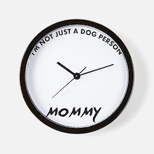 Dandie Dinmont Terrier dog breed design Wall Clock