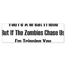 zombiesChaseUs1A Bumper Sticker