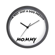 Irish Wolfhound dog breed designs Wall Clock
