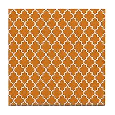 Moroccan Orange Tile Coaster