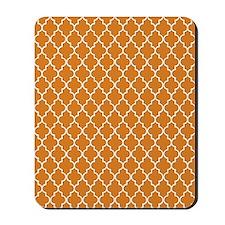 Moroccan Orange Mousepad