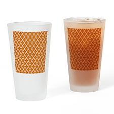 Moroccan Orange Drinking Glass