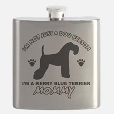 Kerry Blue Terrier Dog breed Flask