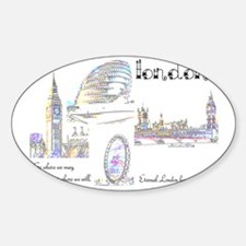 London (wide) Decal